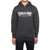 HUF - HUF X THRASHER ASIA TOUR PULLOVER HOODIE // CHARCOAL HEATHER