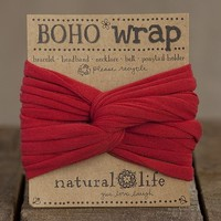 Boho Wrap Red - Piace Boutique