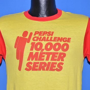80s Pepsi Challenge 10K Series Race t-shirt Small