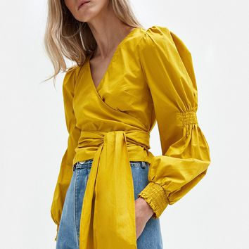 Stelen / Valley Top in Yellow