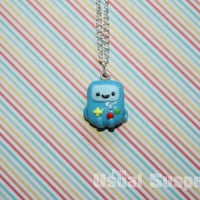 BMO from Adventure Time necklace
