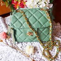 Take a Bow Shoulder Bag in Mint - Goods - Retro, Indie and Unique Fashion