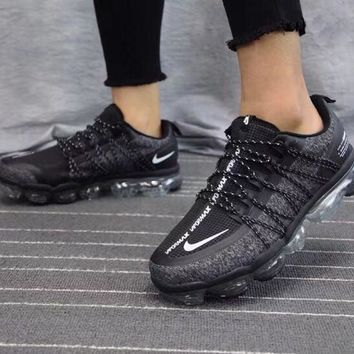 Nike Air Vapormax Flyknit Full palm air cushion running shoes