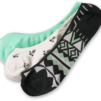Empyre 3 Pack Shelley No Show Socks