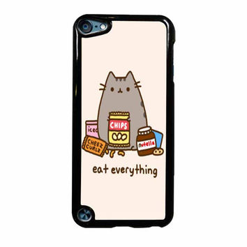Pusheen The Cat Eat Everything iPod Touch 5th Generation Case