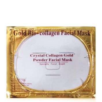 100pcs Skin Care Mask Collagen Crystal Facial Mask Whitening Moisturizing Sheet Mask Beauty Skin Care Face Mask Anti Aging