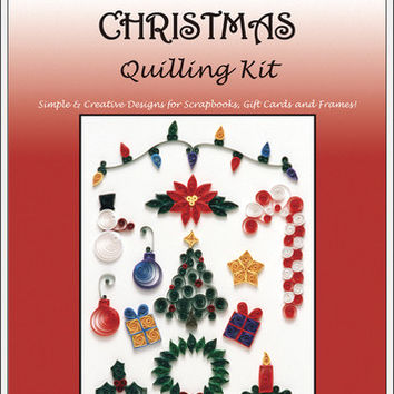 Quilling Kits - Christmas Theme