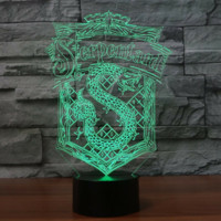 Serpenta Harry potter 3D  Lamp 8 Changeable Color [FREE SHIPPING]