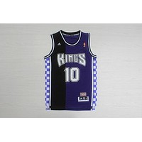 NBA Sacramento Kings #10 Mike Bibby Swingman Jersey