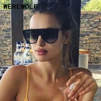 2017 NEW Kim Kardashian Sunglasses Women Glasses Square Celebrity Italy Brand Designer Shadow Sun Glasses Car Driver CL41435