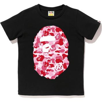 ABC CAMO BIG APE HEAD TEE LADIES