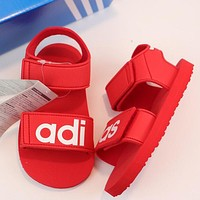 ADIDAS Girls Boys Children Baby Toddler Kids Child Fashion Casual Sandals Flats Shoes