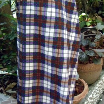 man's sarong chequered pattern T3