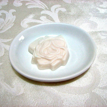Soap Rose Blossom Soap White Wild Berry Glycerin by casacampbell