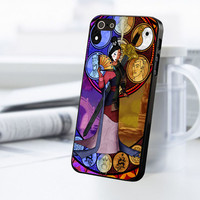 Mulan Stained Glass iPhone 5C Case