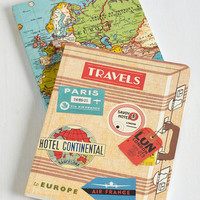 Travel Thoughts from the Road Notebook Set by ModCloth