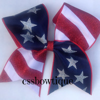 Star-Spangled Cheer Bow