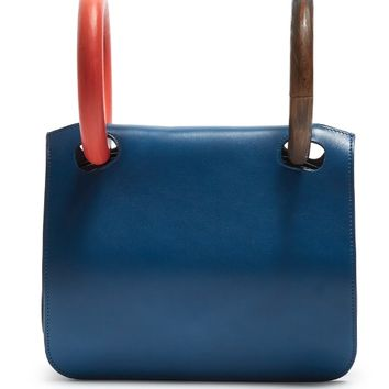 Neneh wooden-handle leather clutch | Roksanda | MATCHESFASHION.COM US
