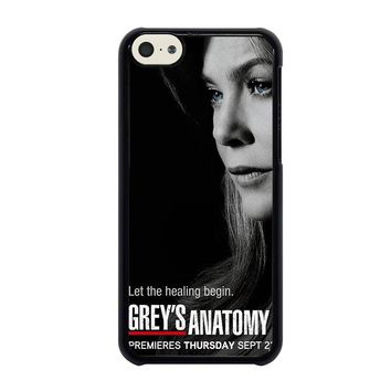 GREY'S ANATOMY MEREDITH iPhone 5C Case Cover