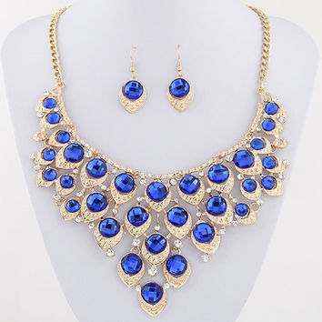 Kymyad Trendy Zinc Alloy Resin Jewelry Sets Women