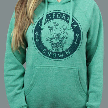 California Grown Vintage Drawing Hoodie