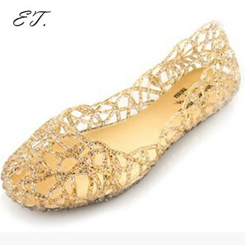 huarache women sandals flat sandals shoes woman zapatos mujer summer shoes  jelly shoes sandalias ef333b252c