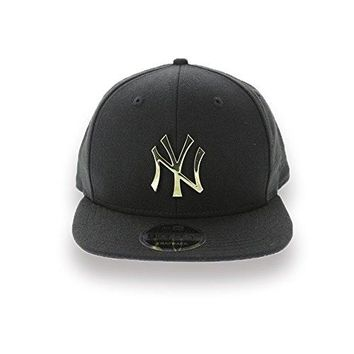 New Era New York Yankees Metal Logo 950 9Fifty Original Fit Snapback Hat