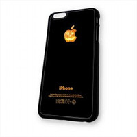 Halloween Pumpkin Apple for iphone 6 case