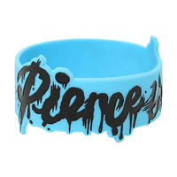 Pierce The Veil Drip Logo Rubber Bracelet
