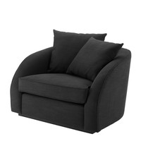 Black Lounge Chair | Eichholtz Les Palmiers