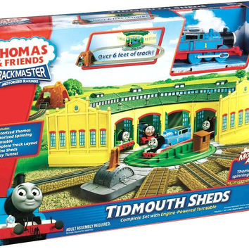 thomas & friends track master tidmouth sheds