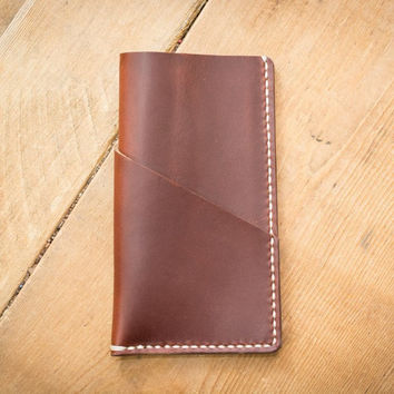 Tan Leather iPhone 6 Case