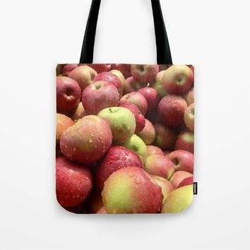 Apples Tote Bag by UMe Images