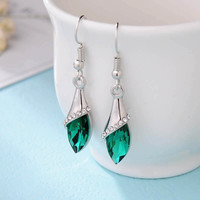 Brincos Crystal Earrings For Women Hot sale Fashion costume