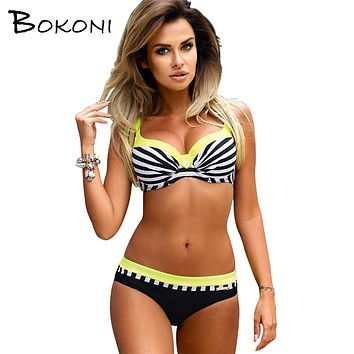 Sexy Women Push Up bikini 2017 Two-Pieces Bikini Set Women Bikinis top Brazilian biquini Swimsuit Female Bathing Suits Swimwear