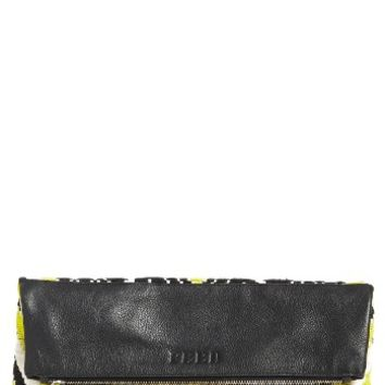 Rebecca Minkoff x FEED Woven Foldover Clutch | Nordstrom