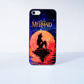 Little Mermaid Princess Plastic Case Cover for Apple iPhone 5s 5 6 Plus 6 4 4s  5c