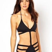 ASOS Strappy Cut Out Swimsuit