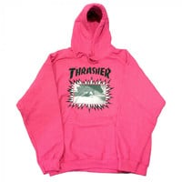 Thrasher Jay Adams Explosive Cover pink hood