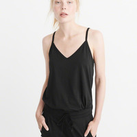 Womens Criss-Cross Tank | Womens Tops | Abercrombie.com