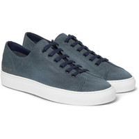 Common Projects - Tournament Waxed-Suede Sneakers | MR PORTER