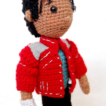Michael Jackson Amigurumi Crochet Pattern MJ Tribute