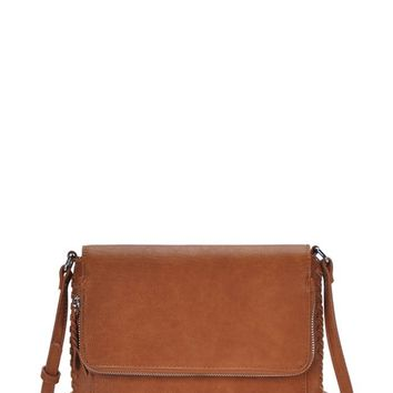 Mount Rushmore Crossbody Bag - Cognac