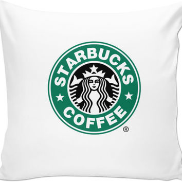 Starbucks Pillow Case