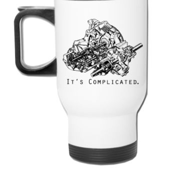 It's Complicated - Travel Mug