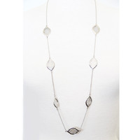Silver Riviera Necklace - Necklace
