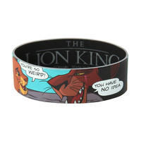 The Lion King You're So Weird Rubber Bracelet