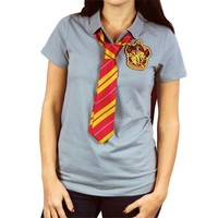 Harry Potter Gryffindor Caped Polo with Tie (Small)