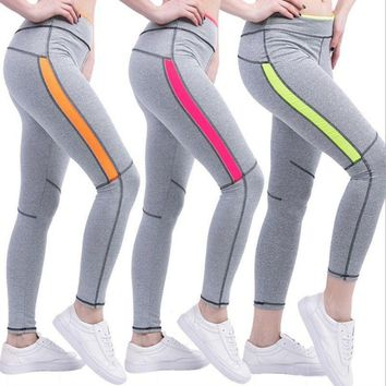 Women's Running Fitness Sport Pants Yoga Gym Casual Leggings Trousers Sportwear