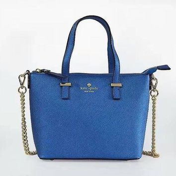 ONETOW Day-First? KATE SPADE Women Shopping Leather Metal Chain Crossbody Satchel Shoulder Bag